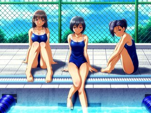 Rating: Safe Score: 116 Tags: anegasaki_nene kobayakawa_rinko love_plus school_swimsuit shian_(my_lonly_life.) swimsuit takane_manaka User: HawthorneKitty