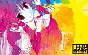 Rating: Safe Score: 35 Tags: hakurei_reimu japanese_clothes miko red_eyes red_hair touhou User: Oyashiro-sama