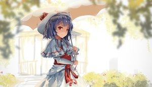 Rating: Safe Score: 113 Tags: blue_hair newnand red_eyes remilia_scarlet touhou umbrella User: humanpinka