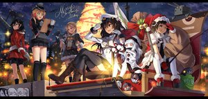 Rating: Safe Score: 143 Tags: admiral_(kancolle) aircraft_carrier_oni anthropomorphism battleship_hime bell black_hair blonde_hair blue_eyes boots bow brown_eyes brown_hair christmas crying dress gloves group hat horns i-class_destroyer kantai_collection kneehighs loli long_hair midway_hime naka_(kancolle) neko_(yanshoujie) northern_ocean_hime prinz_eugen_(kancolle) red_eyes rensouhou-chan ribbons ryuujou_(kancolle) santa_hat shigure_(kancolle) short_hair signed socks stars tears thighhighs tree twintails uniform white_hair wink yuudachi_(kancolle) User: Flandre93