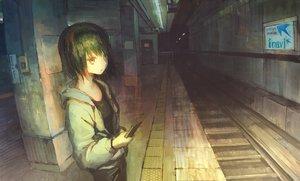 Rating: Safe Score: 30 Tags: original phone polychromatic tokunaga_akimasa train User: FormX