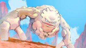 Rating: Safe Score: 8 Tags: clouds desert graveler higa-tsubasa nobody pokemon polychromatic sky User: otaku_emmy