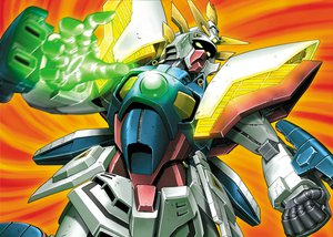 Rating: Safe Score: 18 Tags: jpeg_artifacts mecha mobile_fighter_g_gundam snip User: SonicBlue