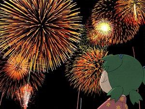 Rating: Safe Score: 19 Tags: azuma_kiyohiko fireworks koiwai_yotsuba yotsubato! User: Oyashiro-sama