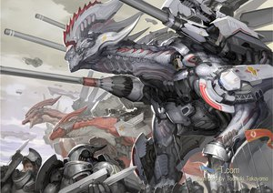 Rating: Safe Score: 112 Tags: armor dragon mecha original takayama_toshiaki weapon User: FormX