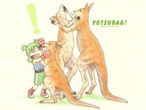 Rating: Safe Score: 9 Tags: animal azuma_kiyohiko koiwai_yotsuba yotsubato! User: Oyashiro-sama
