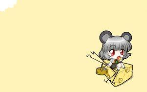 Rating: Safe Score: 16 Tags: animal animal_ears chibi fang mouse mousegirl nagisuke nazrin red_eyes tail touhou User: SciFi