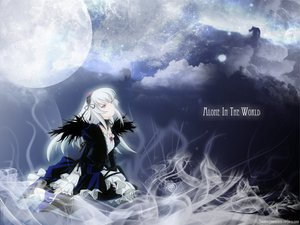 Rating: Safe Score: 41 Tags: gothic moon night pink_eyes rozen_maiden signed sky suigintou white_hair wings User: acucar11
