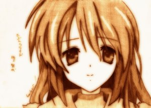 Rating: Safe Score: 11 Tags: clannad godees monochrome sakagami_tomoyo User: talchi