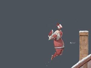 Rating: Safe Score: 13 Tags: all_male christmas hat male rooftop santa_claus santa_costume santa_hat User: Oyashiro-sama