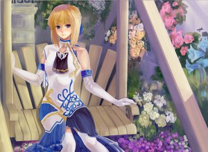 Rating: Safe Score: 94 Tags: artoria_pendragon_(all) blonde_hair elbow_gloves fate_(series) fate/stay_night gloves kenbou saber User: RoronoAxMihawK