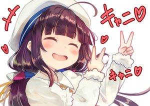 Rating: Safe Score: 45 Tags: black_hair blush brat hat loli long_hair ryuuou_no_oshigoto! translation_request yashajin_ai User: RyuZU