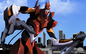 Rating: Safe Score: 27 Tags: eva-02 mecha neon_genesis_evangelion robot vector User: lynx