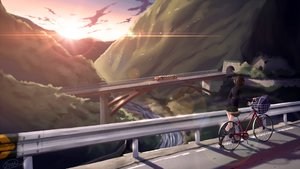 Rating: Safe Score: 65 Tags: bicycle dreadtie kneehighs landscape original ponytail scenic seifuku signed skirt sunset train water User: Flandre93