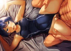 Rating: Explicit Score: 175 Tags: blue_eyes blue_hair burakyan censored cum erect_nipples kamishiro_sui penis pubic_hair pussy school_swimsuit sex short_hair spread_legs swimsuit tears tokyo_7th_sisters User: otaku_emmy