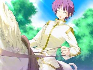 Rating: Safe Score: 3 Tags: animal favorite game_cg happy_margaret! horse kokonoka purple_hair short_hair tsuwabuki_akira User: 秀悟
