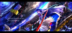 Rating: Safe Score: 121 Tags: earth hat hinanawi_tenshi ryosios space torii touhou User: luckyluna