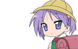 Rating: Safe Score: 3 Tags: close hiiragi_kagami loli lucky_star white User: Oyashiro-sama