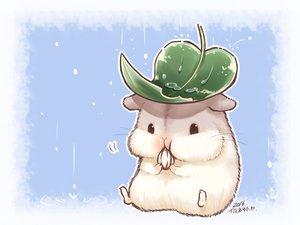 Rating: Safe Score: 85 Tags: animal food leaves nobody original rain signed water yutaka_kana User: otaku_emmy