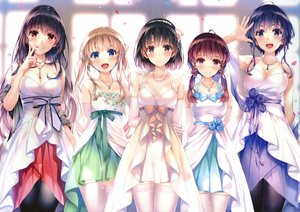 Rating: Safe Score: 398 Tags: black_hair blonde_hair blue_eyes blue_hair blush breasts brown_eyes cleavage dress elbow_gloves fang garter_belt gloves group hashima_izumi headband hyoudou_michiru kasumigaoka_utaha katou_megumi long_hair misaki_kurehito navel necklace purple_eyes red_eyes red_hair saenai_heroine_no_sodatekata sawamura_spencer_eriri short_hair thighhighs twintails underwear User: BattlequeenYume