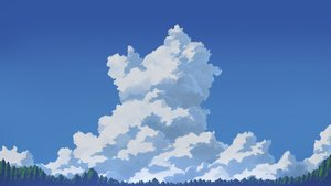Rating: Safe Score: 8 Tags: aratascape clouds nobody original scenic sky tree User: RyuZU