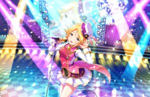 Rating: Safe Score: 13 Tags: annin_doufu blonde_hair blue_eyes feathers hat idolmaster idolmaster_cinderella_girls idolmaster_cinderella_girls_starlight_stage music short_hair skirt umeki_otoha uniform User: luckyluna