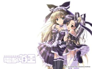 Rating: Questionable Score: 48 Tags: 2girls dengeki_moeoh goth-loli komatsu_eiji lolita_fashion white User: Oyashiro-sama