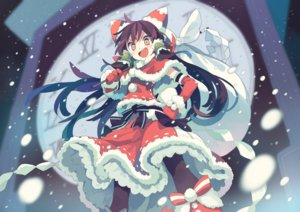 Rating: Safe Score: 62 Tags: christmas hakurei_reimu morino_hon touhou User: mattiasc02
