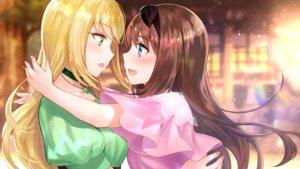 Rating: Safe Score: 34 Tags: 2girls close degica fuji_choko game_cg hug ootori_ai shoujo_ai tachibana_nana yumeutsutsu_re:master User: mattiasc02
