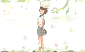 Rating: Questionable Score: 24 Tags: cenco cencoroll flowers short_hair uki_atsuya yuki_(cencoroll) User: qashairy