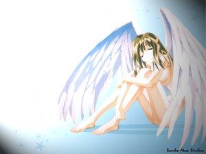 Rating: Questionable Score: 18 Tags: angel nude tagme wings User: Oyashiro-sama