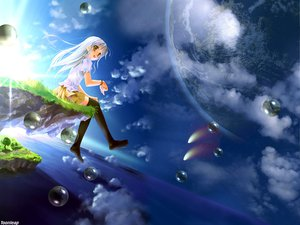 Rating: Safe Score: 34 Tags: bubbles original planet sky takoyaki_(roast) User: 秀悟