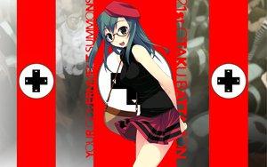Rating: Safe Score: 26 Tags: glasses green_hair murakami_suigun skirt tagme User: NovaJinx