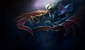Rating: Safe Score: 43 Tags: armor dark league_of_legends nocturne_(league_of_legends) weapon User: juanfreak