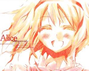 Rating: Safe Score: 17 Tags: alice_margatroid blonde_hair blush orimoto_asami short_hair touhou white User: Oyashiro-sama