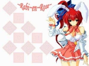 Rating: Safe Score: 12 Tags: animal_ears bunny_ears bunnygirl comic_party cosplay di_gi_charat magic_private_eye takase_mizuki User: Oyashiro-sama