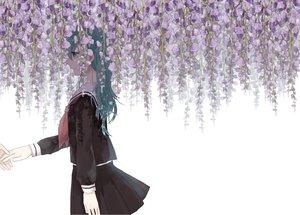 Rating: Safe Score: 40 Tags: danjou_sora hatsune_miku long_hair school_uniform vocaloid User: luckyluna