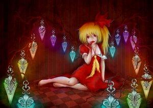 Rating: Safe Score: 33 Tags: blonde_hair blood flandre_scarlet loli red_eyes touhou vampire User: humanpinka