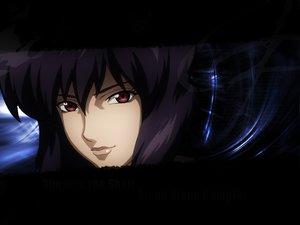 Rating: Safe Score: 12 Tags: ghost_in_the_shell kusanagi_motoko red_eyes User: Oyashiro-sama