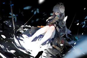 Rating: Safe Score: 36 Tags: armor asa_ni_haru fan genshin_impact gray_hair kamisato_ayaka mask ponytail samurai water User: BattlequeenYume
