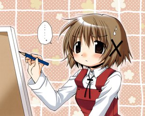 Rating: Safe Score: 3 Tags: hidamari_sketch ume_aoki yuno User: atlantiza