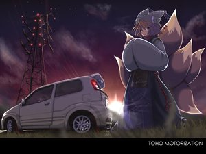 Rating: Safe Score: 58 Tags: blonde_hair car hat hayate-s short_hair touhou yakumo_ran User: SciFi