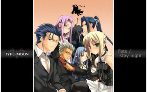 Rating: Safe Score: 6 Tags: archer assassin berserker caster fate/stay_night lancer rider saber User: Oyashiro-sama