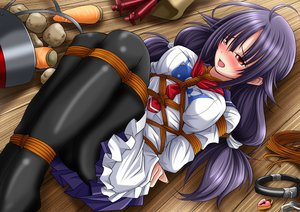 Rating: Questionable Score: 72 Tags: bondage kantai_collection tagme_(artist) taigei_(kancolle) User: Freenight
