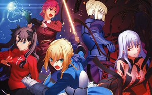 Rating: Safe Score: 24 Tags: bazett_fraga_mcremitz dark_matou_sakura fate/hollow_ataraxia fate/stay_night jpeg_artifacts saber saber_alter takeuchi_takashi tohsaka_rin type-moon User: rargy