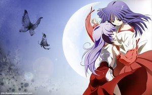 Rating: Safe Score: 45 Tags: furude_rika hanyuu higurashi_no_naku_koro_ni horns japanese_clothes miko User: pantu