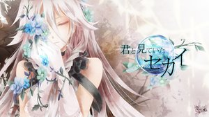 Rating: Safe Score: 237 Tags: braids elbow_gloves flowers gloves ia long_hair pink_hair tyouya vocaloid User: FormX
