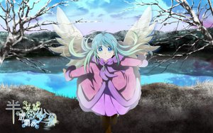 Rating: Safe Score: 44 Tags: hatsune_miku mariwai_(marireroy) tree vocaloid water wings winter User: MissBMoon