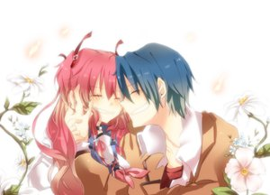 Rating: Safe Score: 26 Tags: angel_beats! flowers hinata_hideki sorato_mizutama tears yui_(angel_beats!) User: FormX