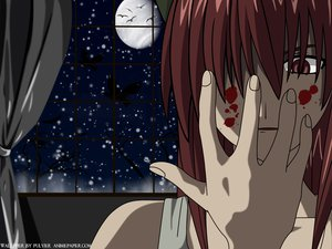 Rating: Safe Score: 30 Tags: close elfen_lied long_hair lucy_(elfen_lied) pink_eyes pink_hair tagme User: 秀悟